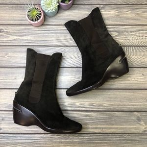 Cole Haan Nike Air Suede Ankle Boots